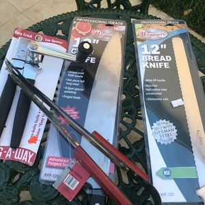 Kitchen Knives Chef Cooking Bundle Lot New